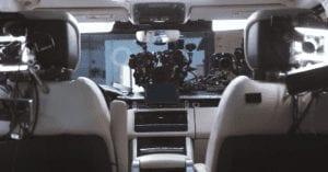 Car Rig in Range Rover